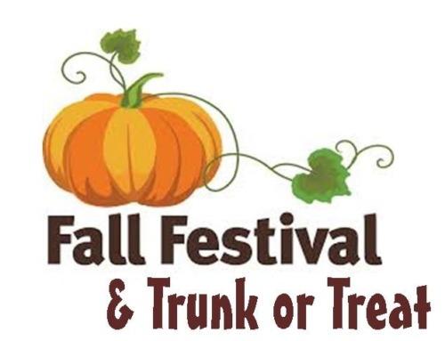 Fall Festival – October 23rd